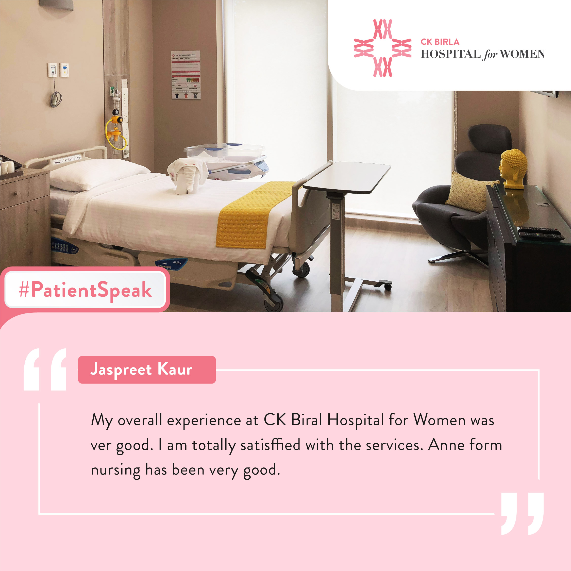 Patient Reviews CK Birla Hospital for Women
